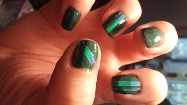 Maniology Dreamland: Iridescent Nail Art Wavy/Straight Striping Stickers - 4 Sheets Review