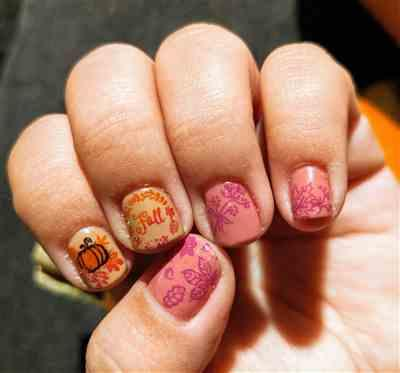 Sarah A Hinostro verified customer review of Fall Limited Edition: 5-Piece Wild Woods Nail Stamping Bundle