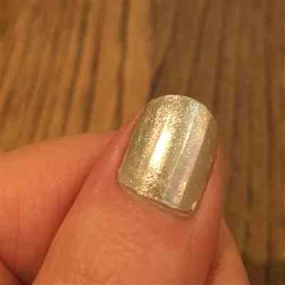 L. verified customer review of Crystal (NA018) - Silver Mirror Nail Art Powder