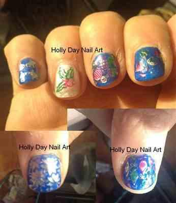 Holly verified customer review of Winter Layers: Christmas Lights (m080) - Nail Stamping Plate