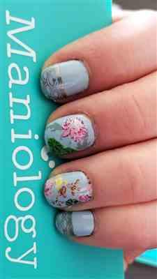Kelli Kasper verified customer review of Lunar New Year: Koi Pond (m112) - Nail Stamping Plate