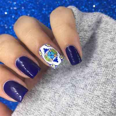 Alexis verified customer review of CYO Design Contest 2019: Swirls (m091) - Nail Stamping Plate