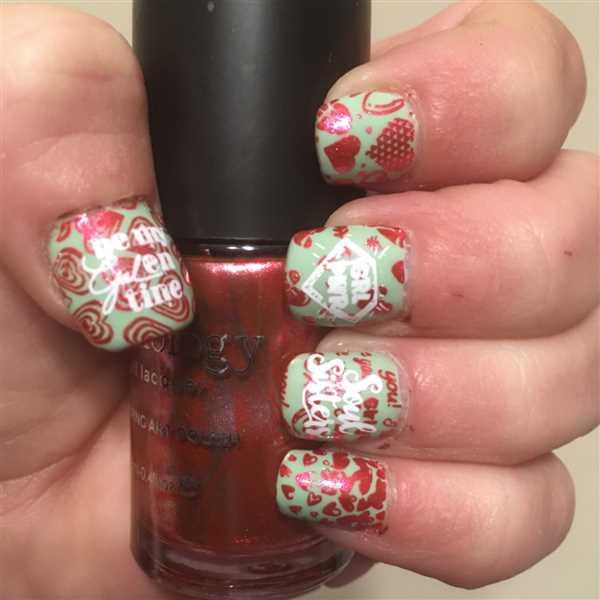 Billie Whitehurst verified customer review of Occasions Limited Edition: 4-Piece Galentine's Nail Stamping Bundle