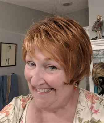 Judith F. verified customer review of Sky by Ellen Wille | Synthetic Pixie Wig