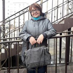 Paula Järvinen verified customer review of Nubuck Leather Messenger Bag