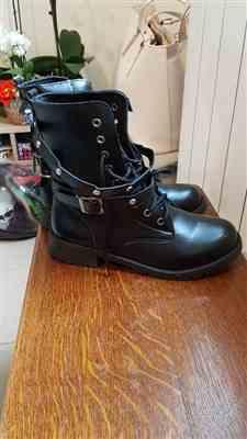 Boots N Bags Heaven Low Heel Black Gothic Boots Review