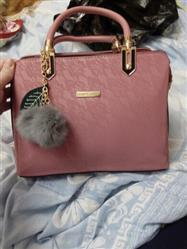 Boots N Bags Heaven BNB Leather Handbag With Pompom Keychain Review