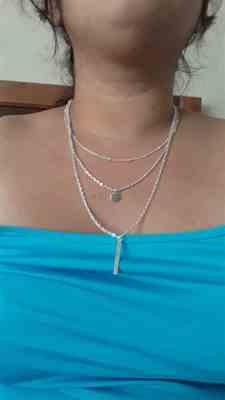 J***a verified customer review of Multi-Layer Lariat Necklace