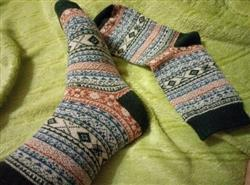 Martin Couch verified customer review of Cozy Striped Socks - Fuzzy Winter Wool Socks Set