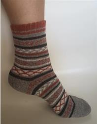 Frances Jacobson verified customer review of Cozy Striped Socks - Fuzzy Winter Wool Socks Set