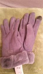 Lynn Inman verified customer review of 2019 Plush Winter Gloves