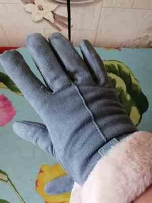 2***2 verified customer review of 2019 Plush Winter Gloves