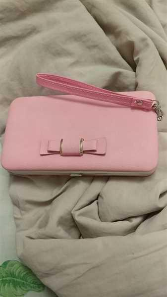 Boots N Bags Heaven Ribbon Clutch Wallet with Phone Holder Review
