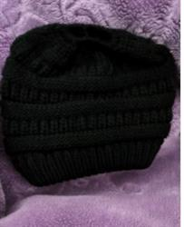 Mary Taylor verified customer review of Ponytail Beanie Messy Bun Beanie Winter Hat With Hole For Ponytail