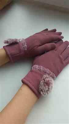 Boots N Bags Heaven Dainty and Elegant Floral Winter Gloves Review
