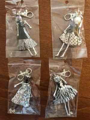 Catherine W. Baines verified customer review of Handmade Fashionista Keychain Dolls - Expanded edition (21 styles)