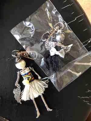 U***u verified customer review of Handmade Fashionista Keychain Dolls - Limited Edition