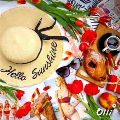 Boots N Bags Heaven Hello Sunshine Wide Brim Beach Summer Hat Review