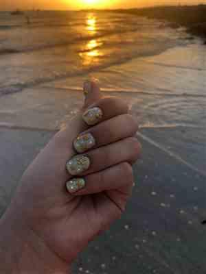 Boots N Bags Heaven 3D Hollow Golden Nail Stickers Review