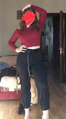 Boots N Bags Heaven Isabel - Off Shoulder Long Sleeved Crop Top Review