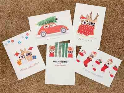 Nicki Pelham verified customer review of Mix & Match Any 12 HOLIDAY CARDS / BEST DEAL