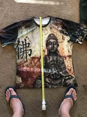 D**e verified customer review of Buddha Zen Shirt