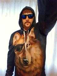 Lubomir Lazarev verified customer review of Pirate Wolf 3D Hoodie