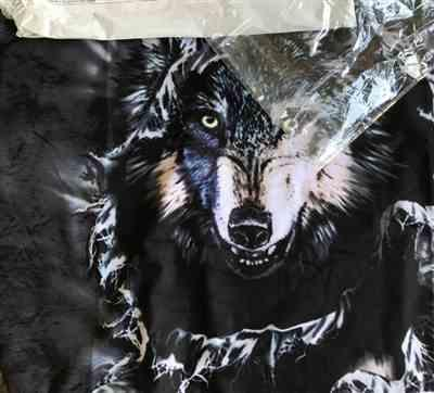 J***t verified customer review of The Wolf Within 3D Hoodie