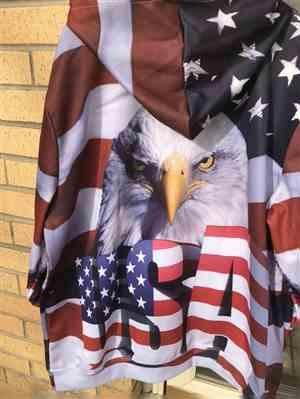 K***f verified customer review of Big USA Eagle 3D Hoodie