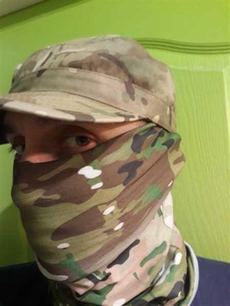 Galaxy Teez Seamless 3D Camouflage Neck Gaiter Face Shield Mask Review