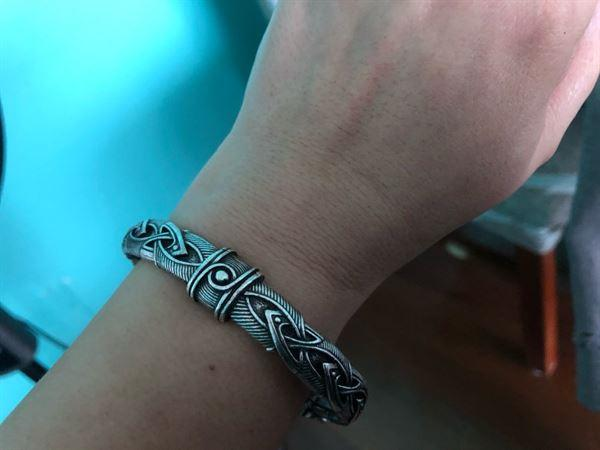 Galaxy Teez Viking Wolf Head Intricate Bracelet Review