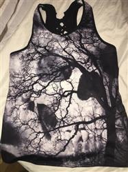 Zara Zakharova verified customer review of Skull Dead Tree Women Tank Top
