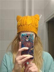 Galaxy Teez Hand Knitted Cat Ear Beanie Review