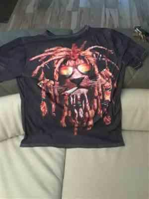 L***s verified customer review of Reggae Lion 3D T-Shirt