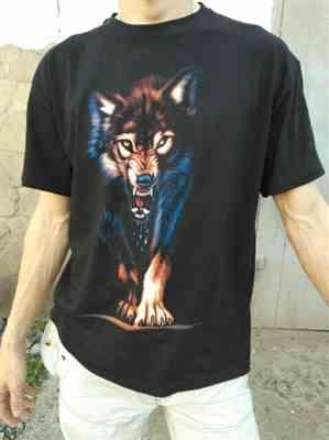 G***g verified customer review of Badass Wolf T-Shirt - Limited Edition!