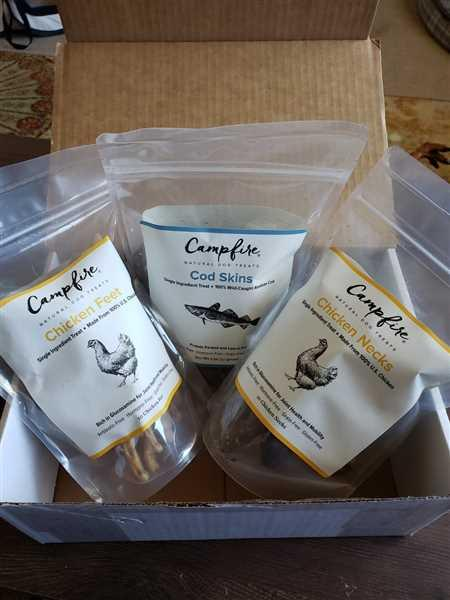 Campfire Treats Cod Skin Treats for Dogs Review
