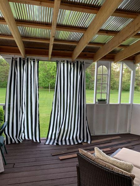 My Backyard Decor Outdoor Curtains 54x84 2-Pack Review