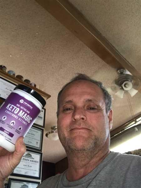 James Miller verified customer review of KETO MAGIC 2.0 (with Patented KETOBHBA®)
