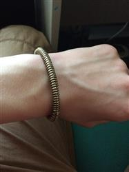 Sandra Williams verified customer review of Wolf Headed Viking Bracelet