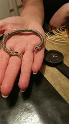 Linda Irvin verified customer review of Wolf Headed Viking Bracelet