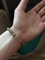 Amy Woodrow verified customer review of Wolf Headed Viking Bracelet