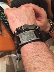 Sharlene Seward verified customer review of Leather Viking Vegvisir Bracelet
