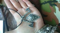 William Ibarra verified customer review of Axes and Shield Viking Necklace