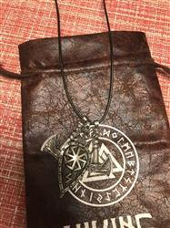 Ralph Kaufman verified customer review of Axes and Shield Viking Necklace