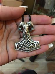 Betty Leavitt verified customer review of Mjolnir Goat Necklace