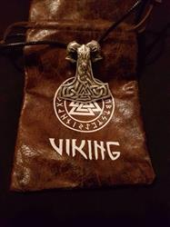 Amanda Solis verified customer review of Mjolnir Goat Necklace