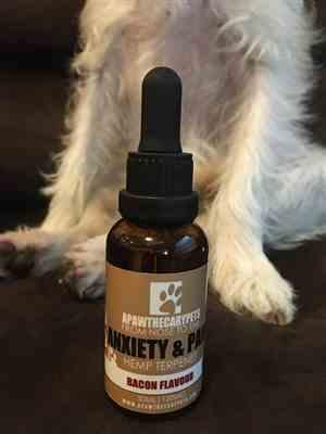 Vanessa verified customer review of Apawthecary Pet Oral Drops