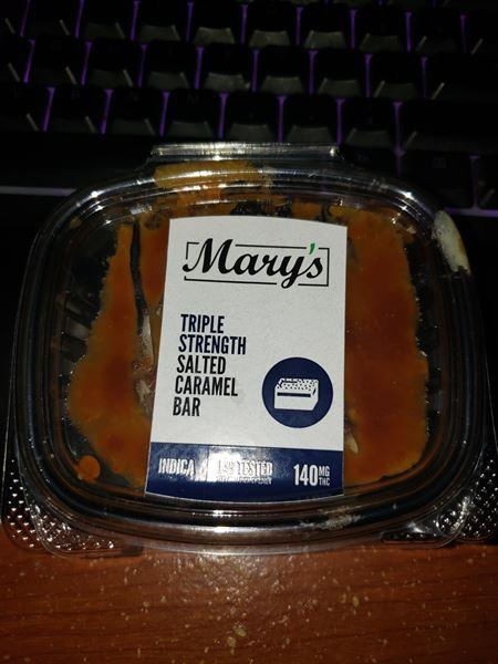 Lyim verified customer review of Mary's Salted Caramel Bar