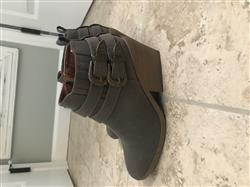 shophearts nubuck wedge bootie - more colors Review
