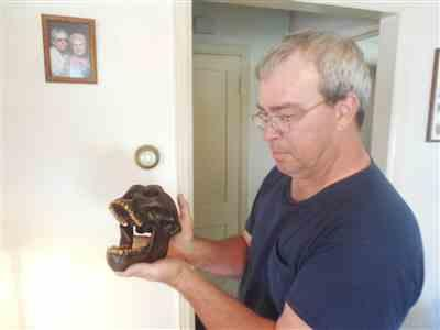 Karl W. verified customer review of Replica Australopithecus afarensis Skull (Male)